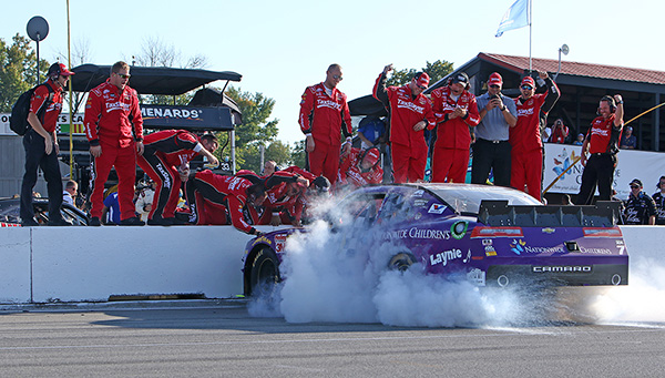15 August 2015 - Regan Smith WINNER of the Nationwide Children's 200  @ MID-OHIO SPORTS CAR COURSE in Lexington,OH (HHP/Tim Parks)